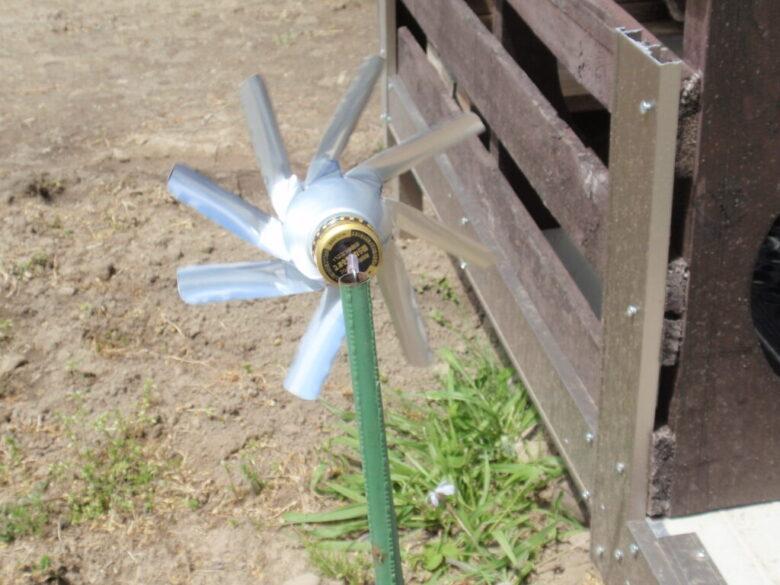 アルミ 缶 風車