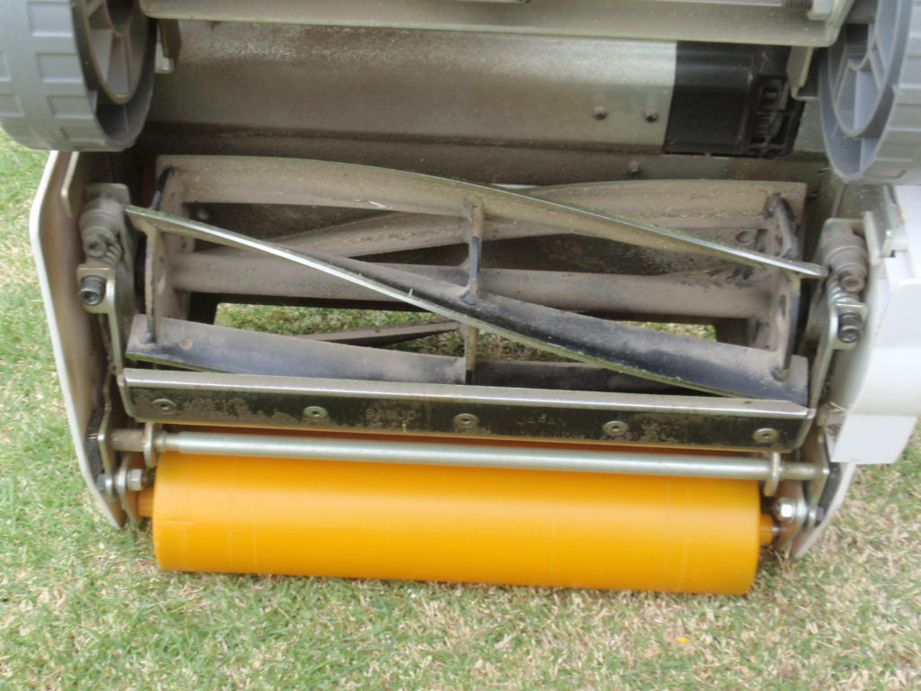 芝刈り機リール式