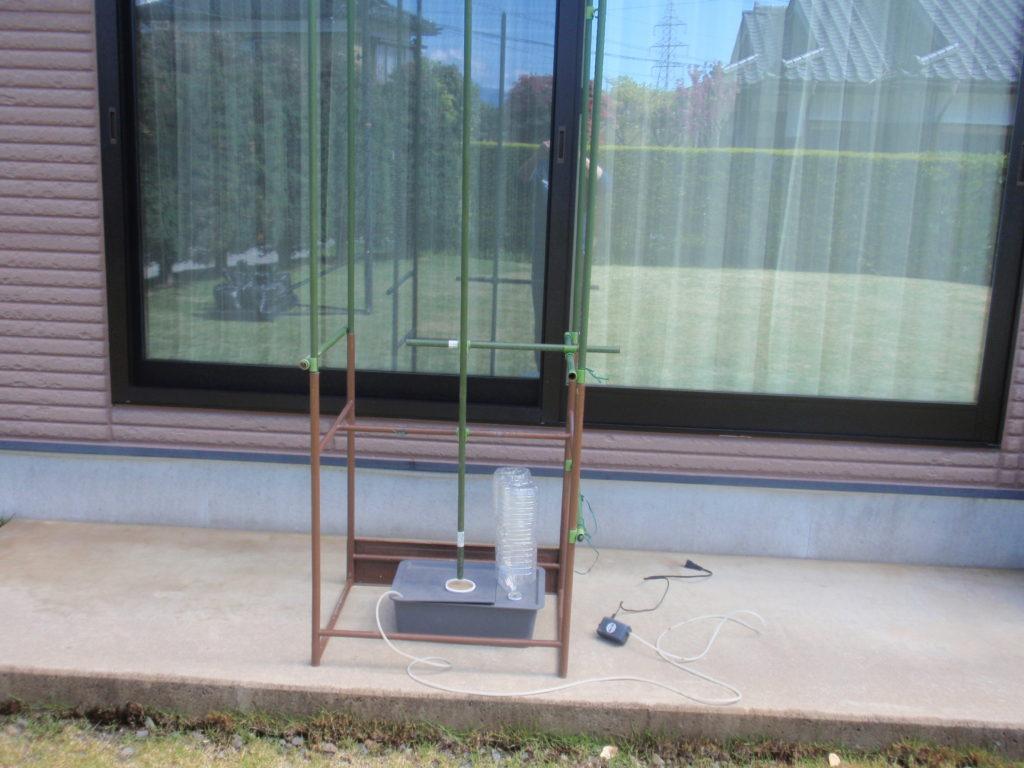 半自動給水装置製作4