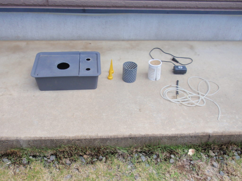 自作水耕栽培装置部品