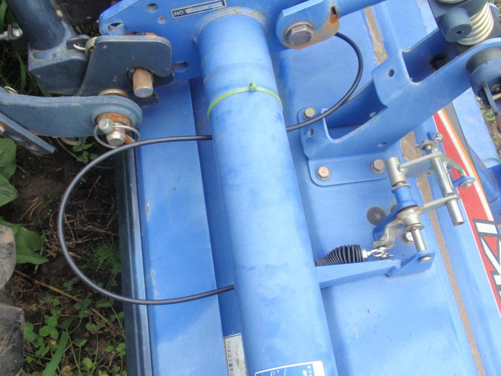自動深耕装置ワイヤー取り回し