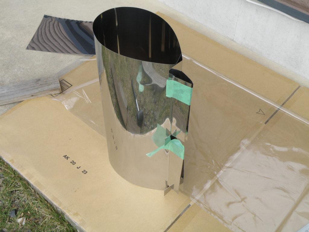 ステンレス板の切断