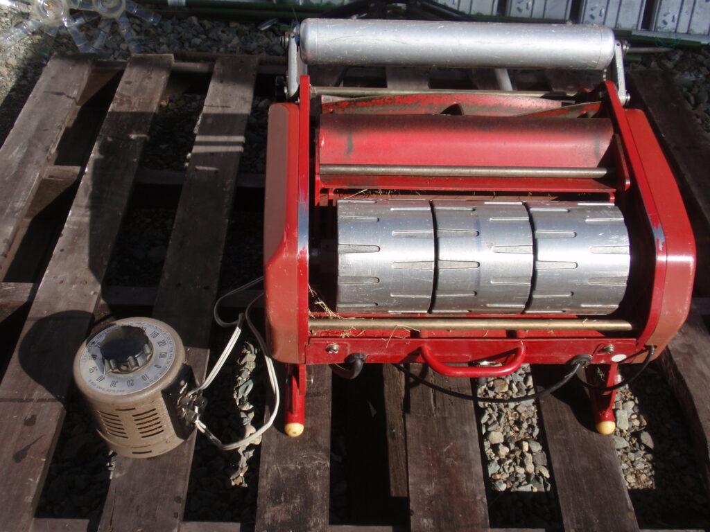 電動芝刈り機とスピードコントローラ