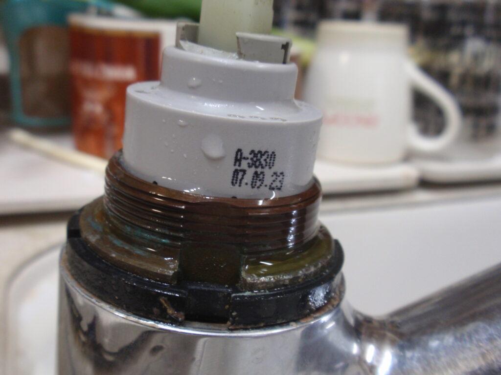 INAX シングルレバー混合栓分解手順5