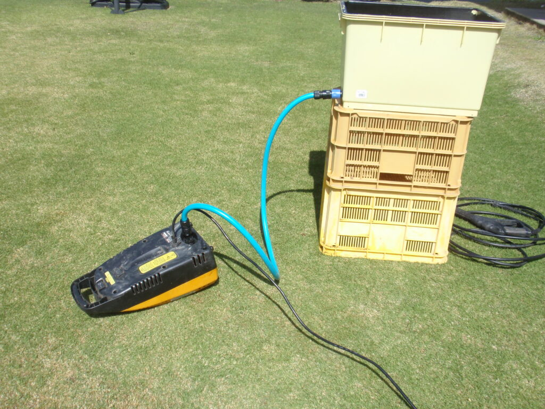 高圧洗浄機を水道直結できない場所で使う方法 手順3.1