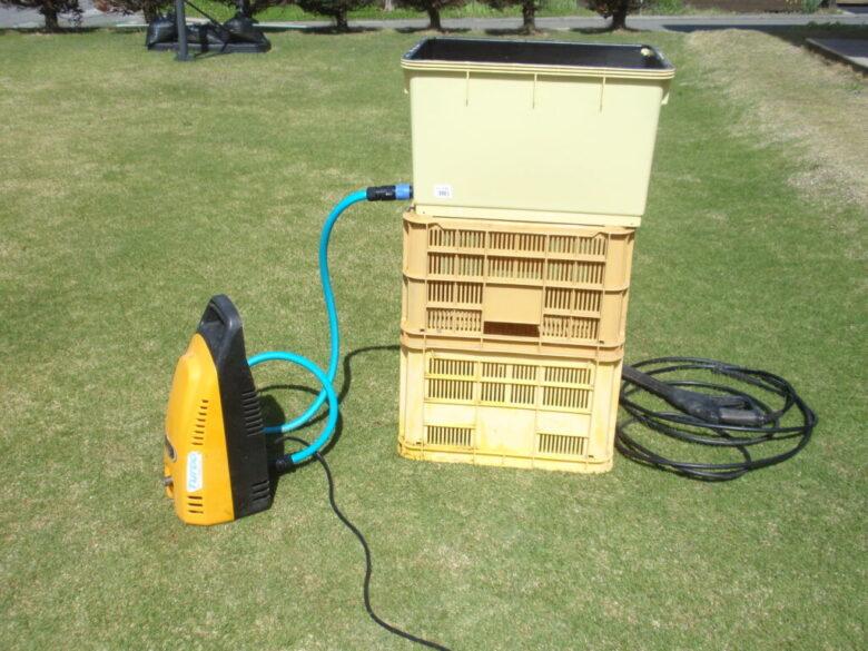 高圧洗浄機を水道直結できない場所で使う方法 手順3